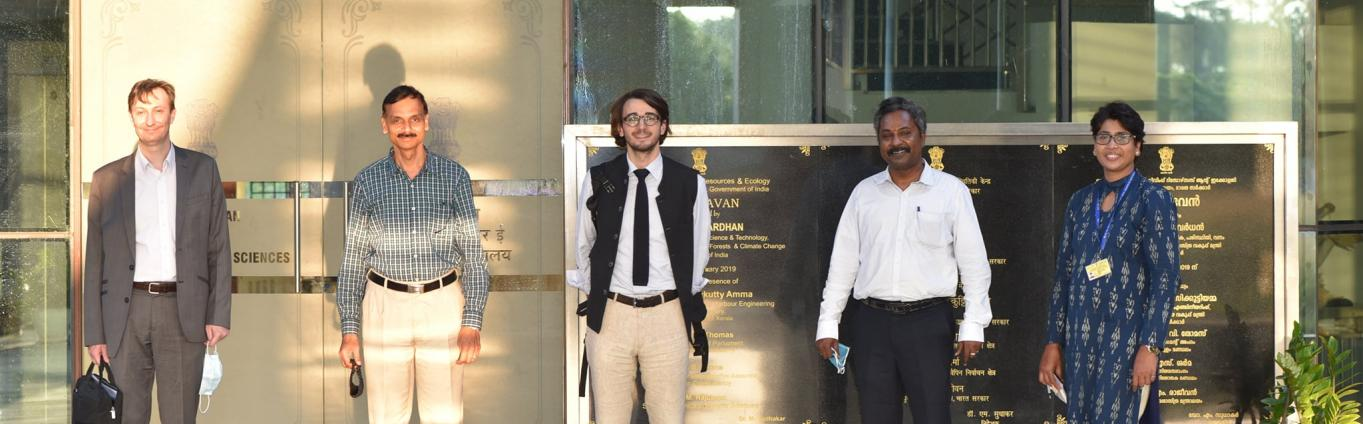 Mr Bruno BOSLE, Head of the French Development Agency in India and Mr. Simon Horrenberger, Counsellor, Embassy of France to India visited CMLRE and discussed with Director and other Senior Scientists for the possible collaboration under Blue economy and other maritime activities of mutual interest.